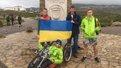 20-річний хлопець з ДЦП доїхав велосипедом зі Львова до Лісабона