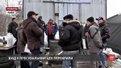 Протестувальники в Рясному блокують вхід на пресувальну лінію