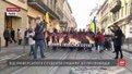 У третю річницю розстрілів на Майдані львівські студенти влаштували тиху ходу