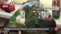 У Львові переселенка з Волновахи малює на осколках снарядів