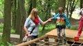 У львівському Парку культури для дітей відкрили «Пригодницьке містечко»