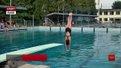 У Львові стартувала національна першість зі стрибків у воду
