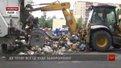 На вул. Північній у Львові лежать невивезеними 4,5 тис. тонн сміття