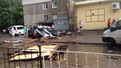 Повалені бурею дерева пошкодили кілька автомобілів у Львові