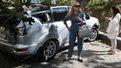 В центрі Львова зламане дерево розбило автомобіль народної депутатки Оксани Юринець