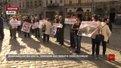 Біля Ратуші відбувся пікет проти будівництва сміттєпереробного комплексу