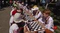 У центрі Львова влаштували дитячий шаховий турнір у вишиванках