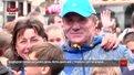 Олімпійський день у Львові відвідав легендарний легкоатлет Сергій Бубка