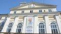 У Львові приспустили прапор та вивісили банер з портретом Левка Лук'яненка