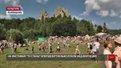 На фестивалі середньовічної культури «Ту Стань!» гості літали над неіснуючою фортецею