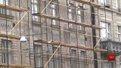 Обвалений фасад львівської поліклініки №1 відреставрують