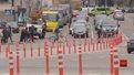 Перші ґумові стовпці на дорогах Львова з'являться на площах Франка та Осмомисла