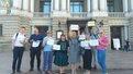У Львові відбулася акція проти повернення Росії в ПАРЄ