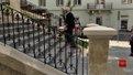 Студенти відреставрували сходи костелу Марії Сніжної