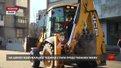 Міська влада почала демонтаж скандального кіоску на проспекті Чорновола у Львові