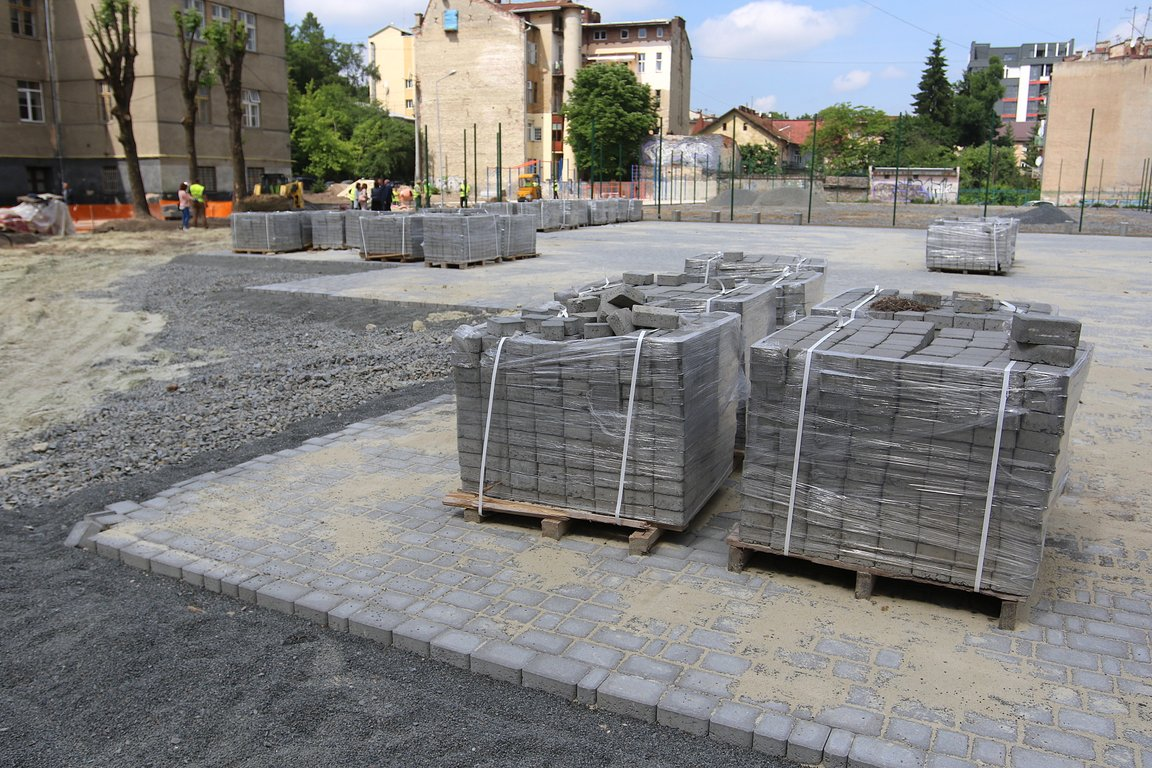 У 2018 році у Львові завершать реконструкцію спортивного майданчика ... eff7d951fb5fc