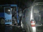 На Прикарпатті автобус «Варшава-Коломия» потрапив у ДТП