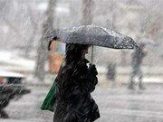 Завтра на заході прогнозують сніг з дощем