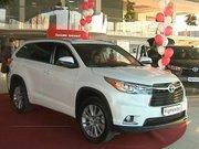У Львові стартували продажі оновленого Toyota Highlander (відео)