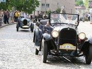 Зі Львова до Польщі вирушила колона ретро-автомобілів