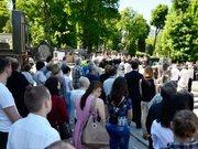 На Личаківському цвинтарі у Львові вшанували Бориса Возницького