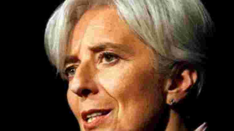 Глава МВФ за безпосередню допомогу банкам ЄС, а не через уряди країн