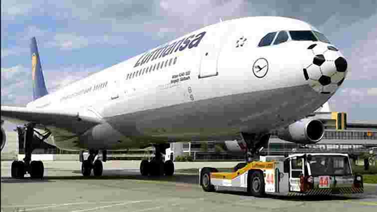 Lufthansa скасувала 8 київських рейсів