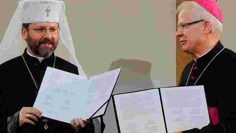 УГКЦ та РКЦ Польщі підписали декларацію до 70-річчя Волинської трагедії