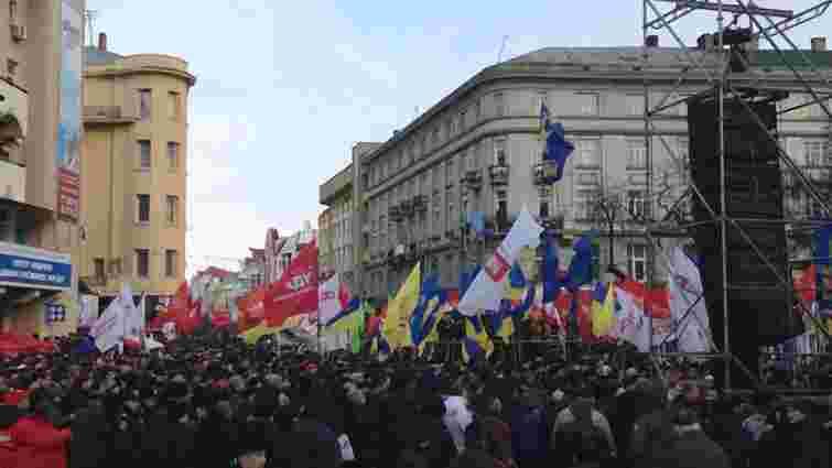 Івано-Франківськ зібрав 40 тисяч людей до Києва
