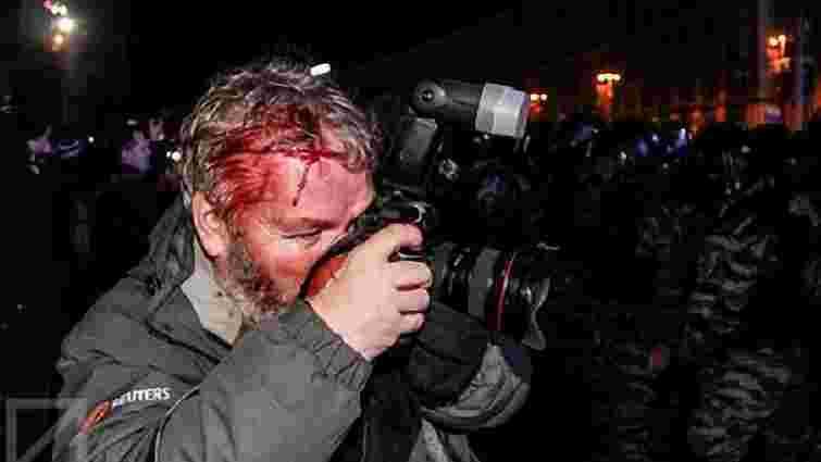 Прокуратура розслідує побиття журналістів «Беркутом»