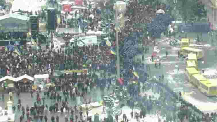 Що зараз відбувається на вулицях Києва (пряма трансляція)