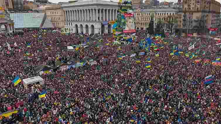 На Майдані у Києві зібралося майже 15 тис. людей