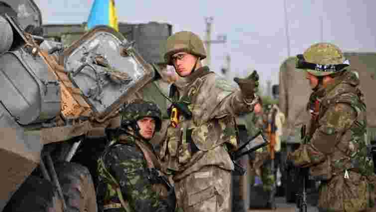 Українські вояки на бронетранспортерах увійшли в Бердянськ
