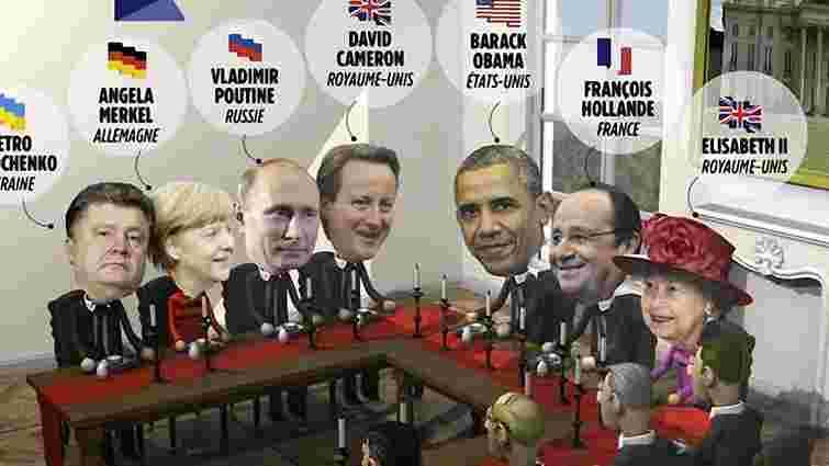 На зустрічі у Франції між Путіним і Порошенком посадять Меркель