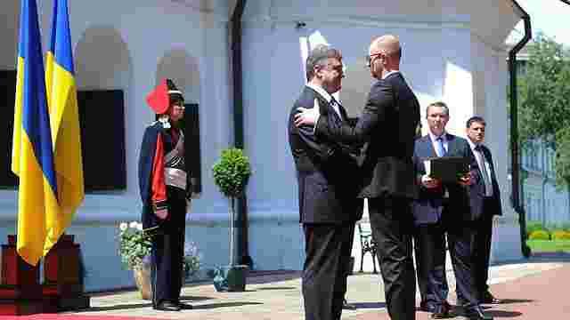 Яценюк: Кабмін і парламент будуть солідарні з президентом