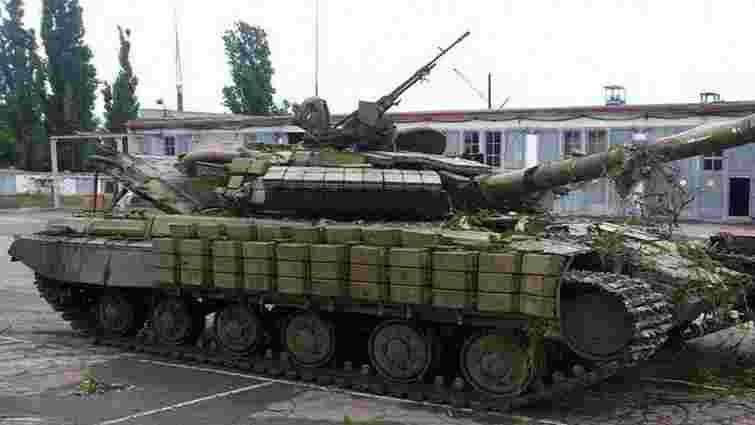 Міноборони підтвердило російське походження танка Т-64 захопленого у терористів