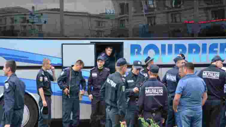 Львівські міліціонери вирушили в зону АТО