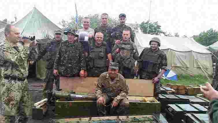 Українські військові знайшли великий арсенал зброї та боєприпасів терористів у Слов'янську
