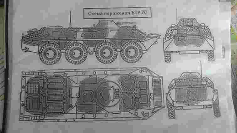 У Краматорську знайшли російські навчальні посібники для військових, покинуті терористами