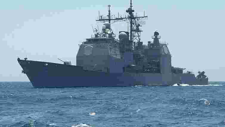 Ракетний крейсер США приєднається до навчань НАТО Breeze у Чорному морі