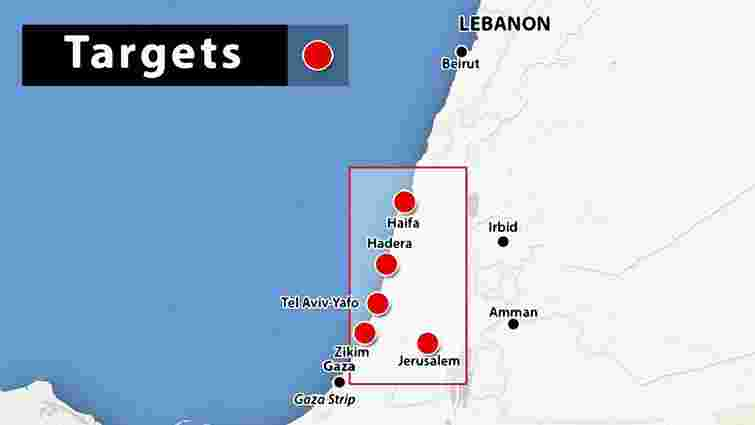 Антитерористична операція в Ізраїлі