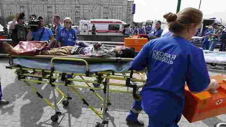 Кількість жертв аварії у московському метро зросла до 10 осіб, 106 госпіталізовано