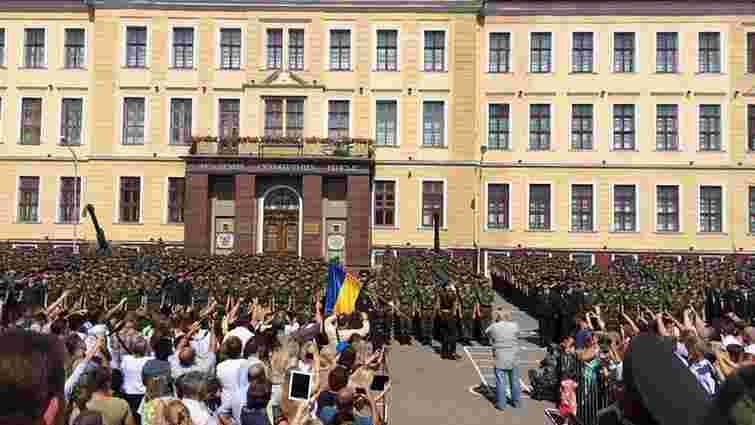 Понад 2,5 тис. студентів Львова склали військову присягу