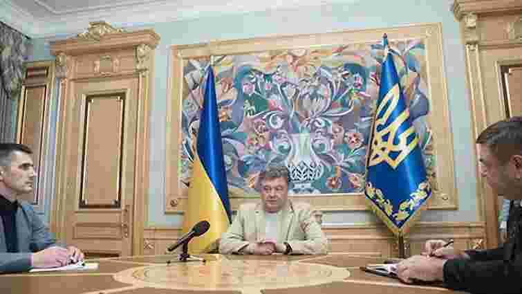 Порошенко вимагає оперативного розслідування замаху на мера Львова і вбивства мера Кременчука