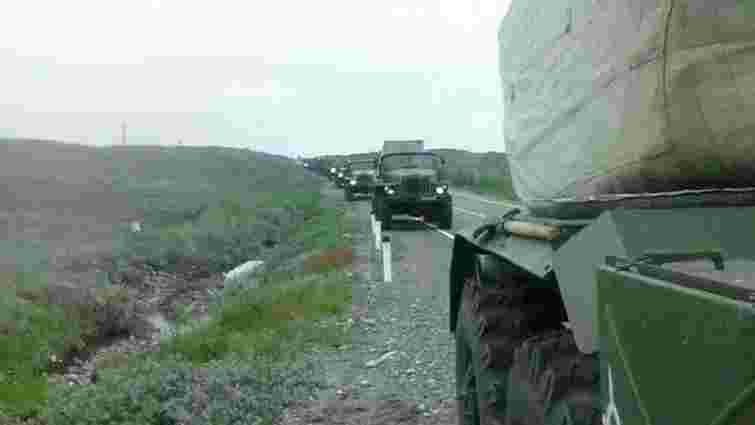 Росія продовжує інтенсивно концентрувати війська поблизу російсько-українського кордону, - РНБО