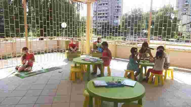 У центрі дитячого розвитку відкрилася бібліо-тераса