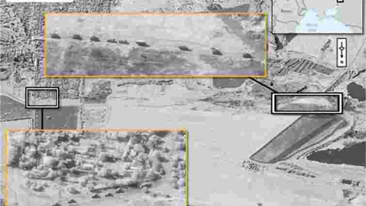 НАТО опублікував супутникові знімки присутності військових РФ на території України