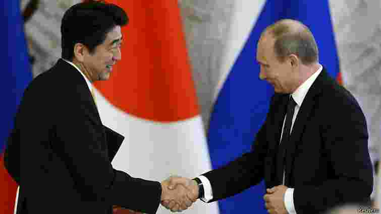 Прем'єр-міністр Японії скасував офіційний візит Путіна до своєї країни