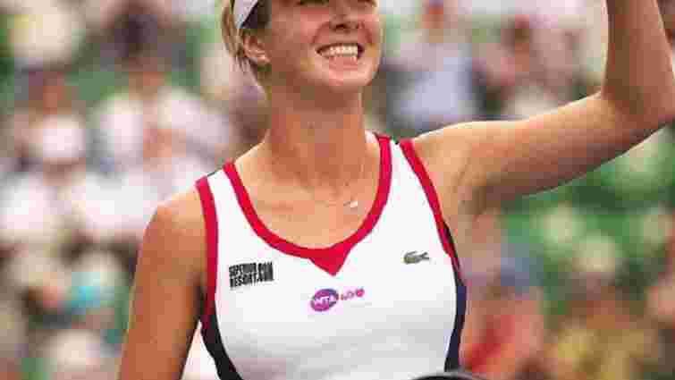 Тенісистка Еліна Світоліна вперше в історії України заробила $1 млн до 20 років