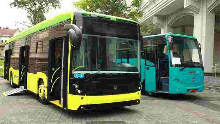 У Львові презентували перший тролейбус від «Електрону»